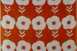 北欧フィンランドから届いたレトロデザインのファブリック(花柄)148×174【長さ87cm〜】