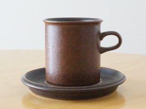 ARABIA アラビア Ruska ルスカ コーヒーカップ&ソーサー
