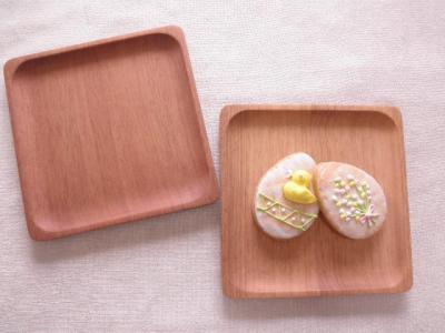 木のパン皿/スクエア/ニャトーの木