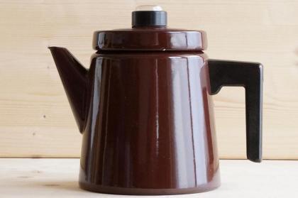 FINEL(フィネル)/コーヒーポット/ブラウン(Lサイズ)