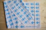 フィンランド国旗柄手ぬぐい