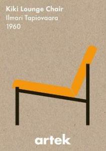 artekポスター アイコンKiki lounge chair(新品)