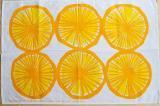 マリメッコ/Appelsiini(アッペルシーニ)オレンジ/ティータオル