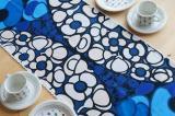 Tampella(タンペラ)ファブリック テーブルランナー(Fiesta ブルー)