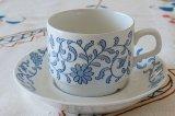 Rorstrand ロールストランド HALLFAST コーヒーカップ&ソーサー