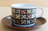 GEFLE(ゲフレ)Mantilj(マンティーラ)コーヒーカップ&ソーサー【94937801】