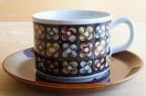 GEFLE(ゲフレ)Mantilj(マンティーラ)コーヒーカップ&ソーサー【95113318】