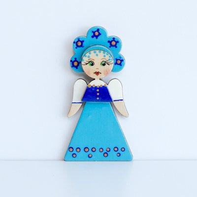 マグネット / 民族衣装 / 青いサラファン