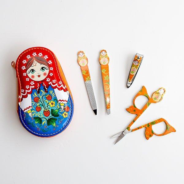 マトリョーシカネイルケアセット / オレンジ