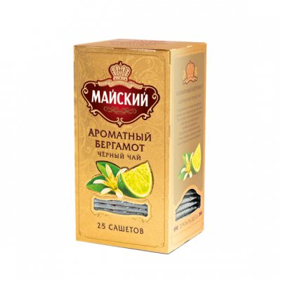 МАЙСКИЙ / GOLD コレクション / ティーバッグ / ベルガモット&ミント
