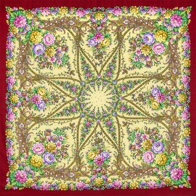 プラトーク / 135x135cm / Цветочная симфония