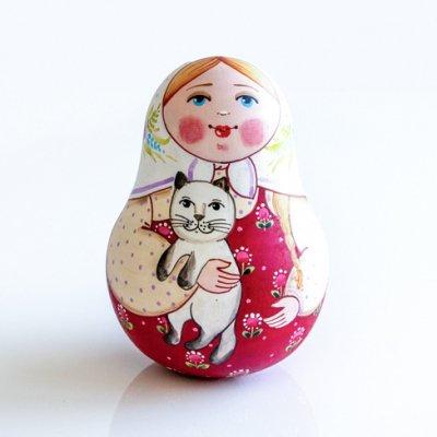 ネヴァリャーシカ / 猫 / エレーナ・イヴァンツォーヴァ作