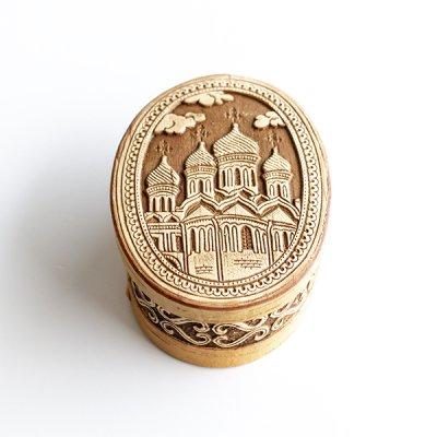 ベレスタ / 白樺の小物入れ / ロシア正教会