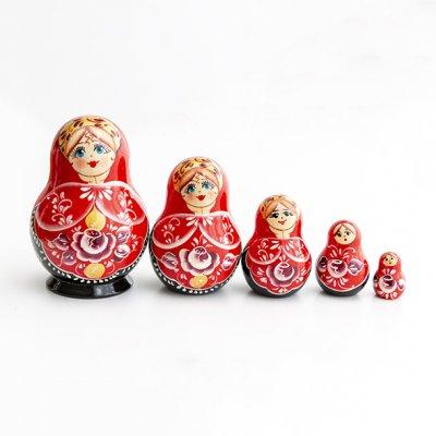 マトリョーシカ / 5pieces / ヴャーツカヤマトリョーシカ伝統柄