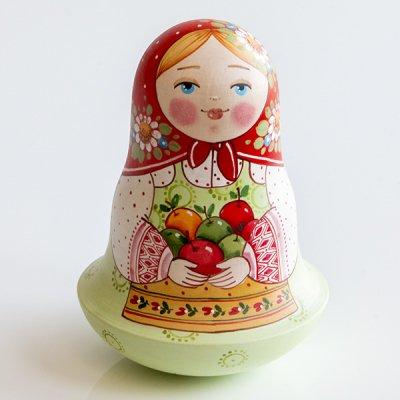 ネヴァリャーシカ / くだものカゴ / エレーナ・イヴァンツォーヴァ作