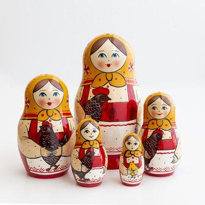 マトリョーシカ / キーロフ / 5pieces