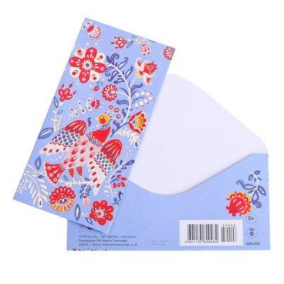 封筒 / 花と鳥