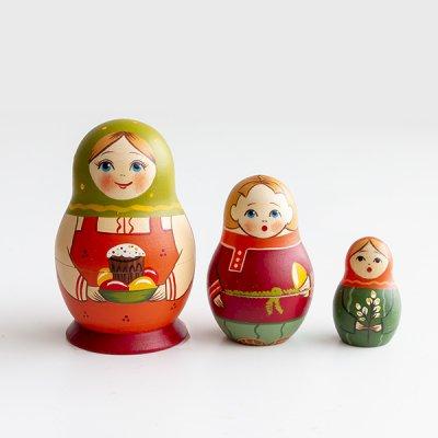 マトリョーシカ / 復活祭 / クリーチとたまご