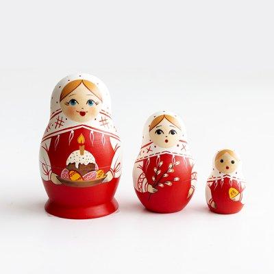 マトリョーシカ / 復活祭 / クリーチとねこやなぎ