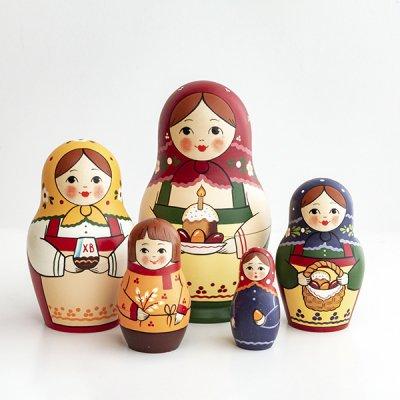 マトリョーシカ / 復活祭 / クリーチとピサンキ