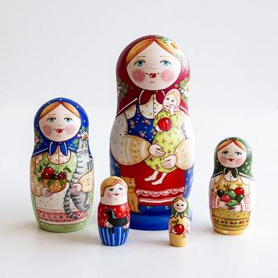マトリョーシカ / お人形 / エレーナ・イヴァンツォーヴァ作