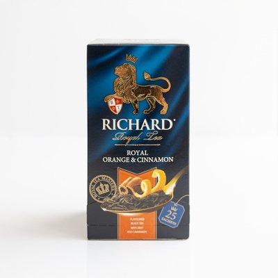 ロシアの紅茶 / RICHARD / ロイヤル オレンジ&シナモン