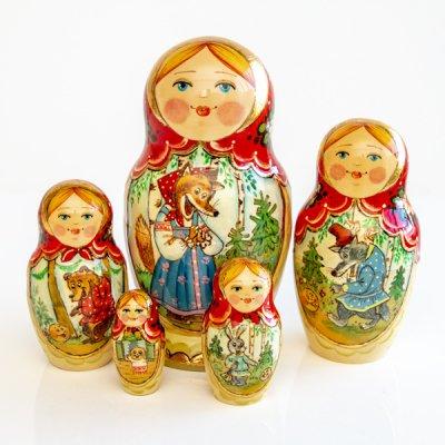 マトリョーシカ / カラボック / 5pieces / エレーナ・イヴァンツォーヴァ作