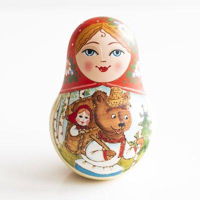 ネヴァリャーシカ / ロシア民話『マーシャとクマ』 / エレーナ・イヴァンツォーヴァ作
