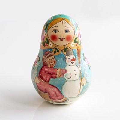 ネヴァリャーシカ(大) / 雪だるま作り / B