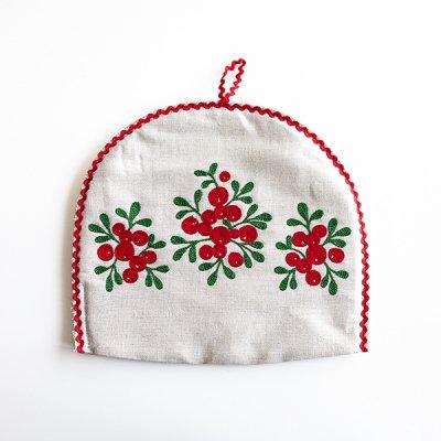 アルハンゲリスク刺繍ティーポットカバー