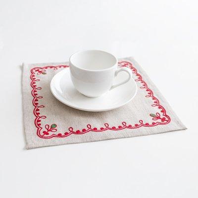アルハンゲリスク刺繍ティーマット