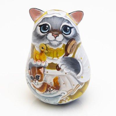 ネヴァリャーシカ / 子猫とアヒル / スヴェトラーナ・ニコラエヴァ 作