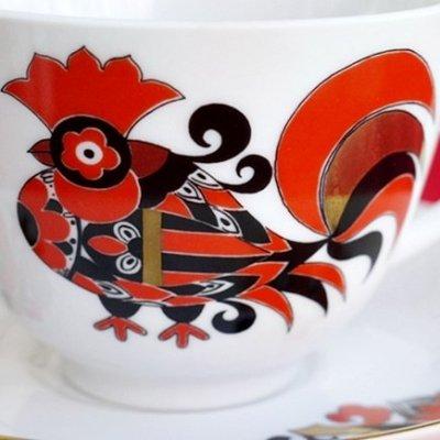 赤いオンドリ