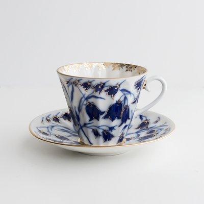 インペリアル・ポーセレン / カップ&ソーサー / つりがね草