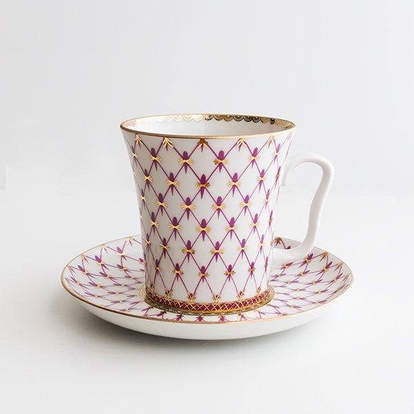 インペリアル・ポーセレン / マグカップ&ソーサー / ブルース