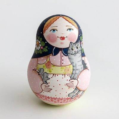 ネヴァリャーシカ / 猫とねずみ / エレーナ・イヴァンツォーヴァ作