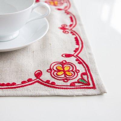 アルハンゲリスク刺繍クロス