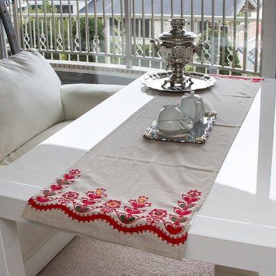 アルハンゲリスク刺繍テーブルクロス