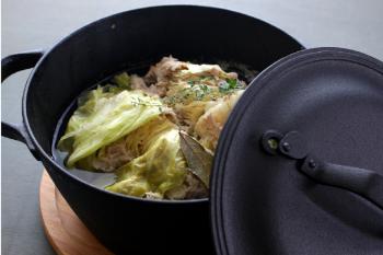 クックトップ丸深形24cm料理1