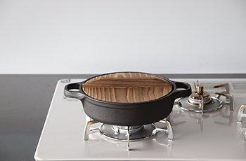 すき焼ぎょうざ兼用鍋20cm