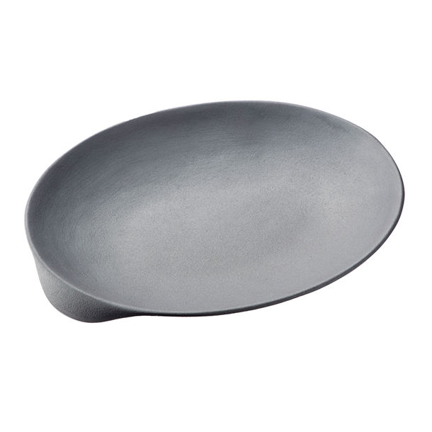 naked pan oval pan 34.5×28cm