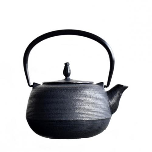 鉄瓶いとめ型0.55L黒