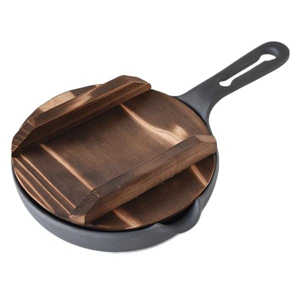 エッグパン 15cm 木蓋付(IH対応)