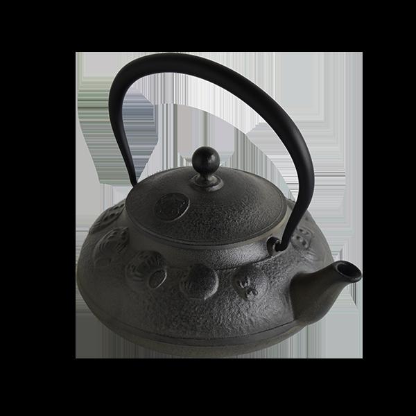 鉄瓶笠形だるま0.8L(IH対応)-数量限定品