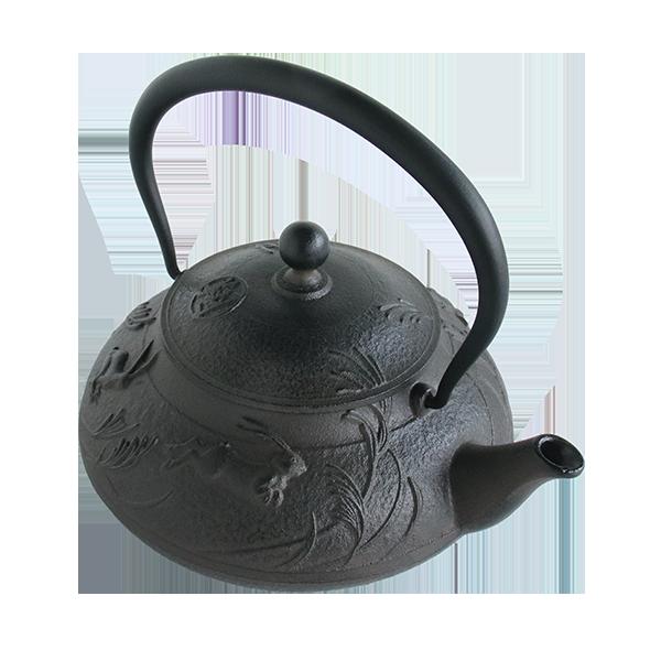 鉄瓶笠形うさぎ 0.8L(IH対応)-数量限定品