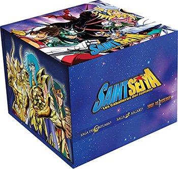 ★送料無料★ 聖闘士星矢 DVD-BOX:正規品スペイン版(日本語/スペイン語)