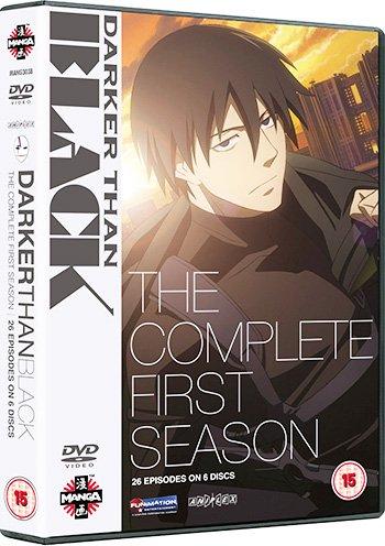 ★送料無料★ DARKER THAN BLACK DVD-BOX 全話:正規品イギリス版(日本語/英語)