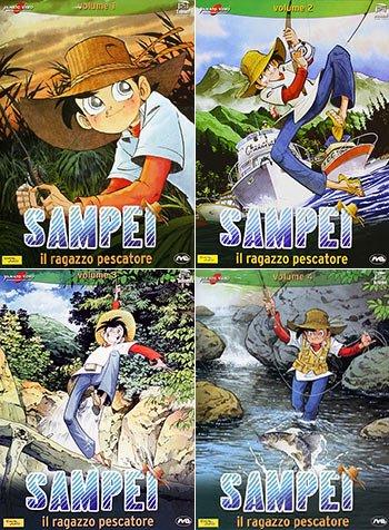 ★送料・代引無料★ 釣りキチ三平 DVD-BOX:正規品イタリア版(日本語/イタリア語)