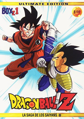 ★送料無料★ ドラゴンボールZ VOL.1 DVD-BOX:正規品スペイン版(日本語/スペイン語)