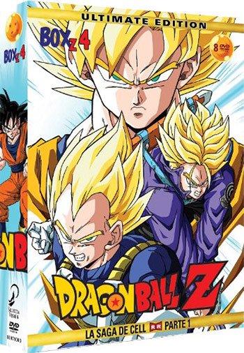 ★送料無料★ ドラゴンボールZ VOL.4~5 DVD-BOX:正規品スペイン版(日本語/スペイン語)